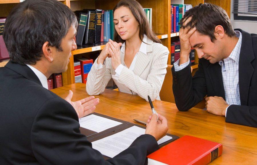 При разводе заключают соглашение