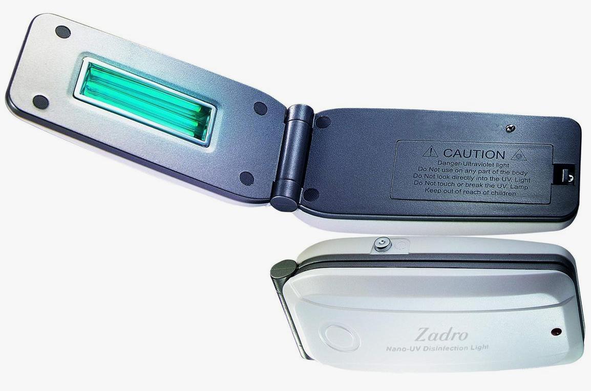 Сканер для дезинфекции в путешествии