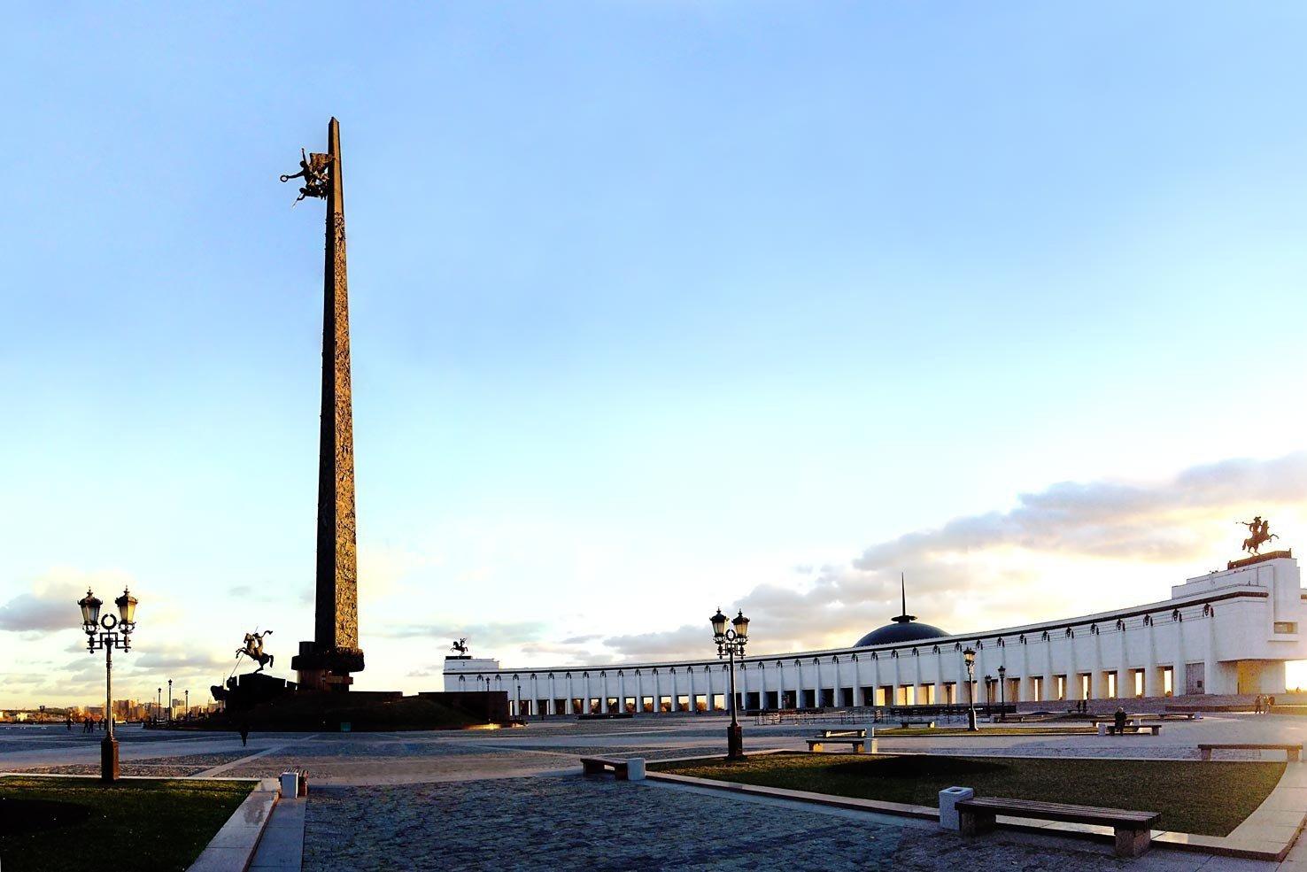 Поклонная гора достопримечательность в Москве