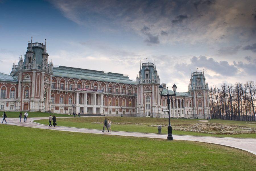 Царицыно достопримечательность в Москве