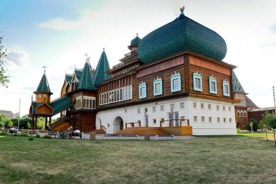 Коломенский дворец в Москве