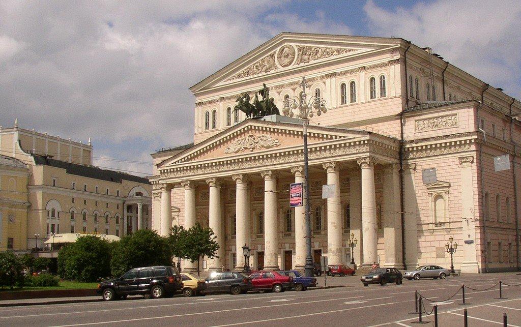Большой театр достопримечательность в Москве