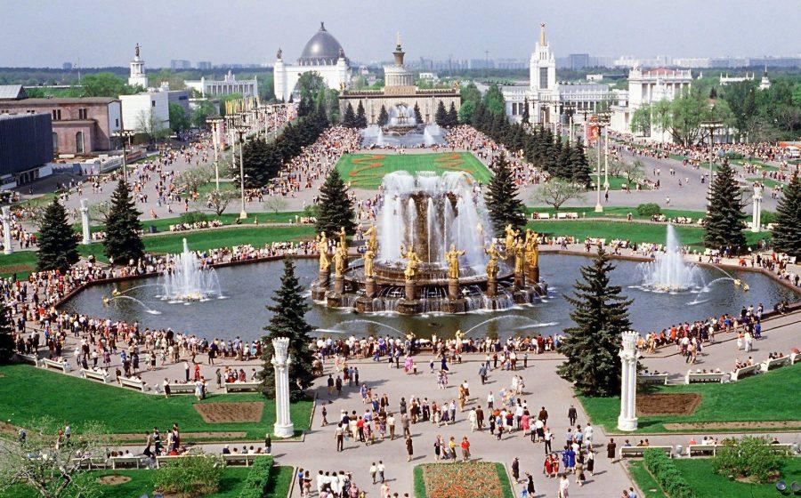 ВДНХ достопримечательность в Москве