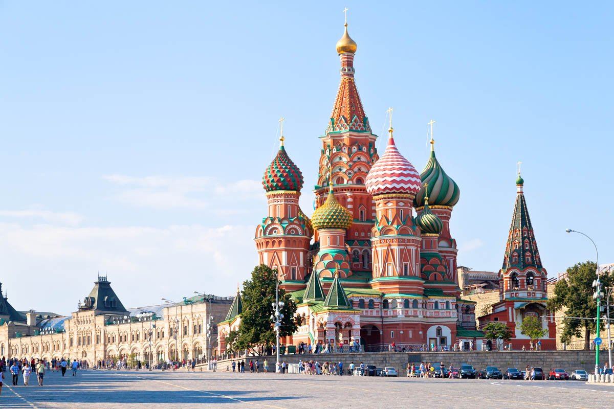 Примечательности города москва