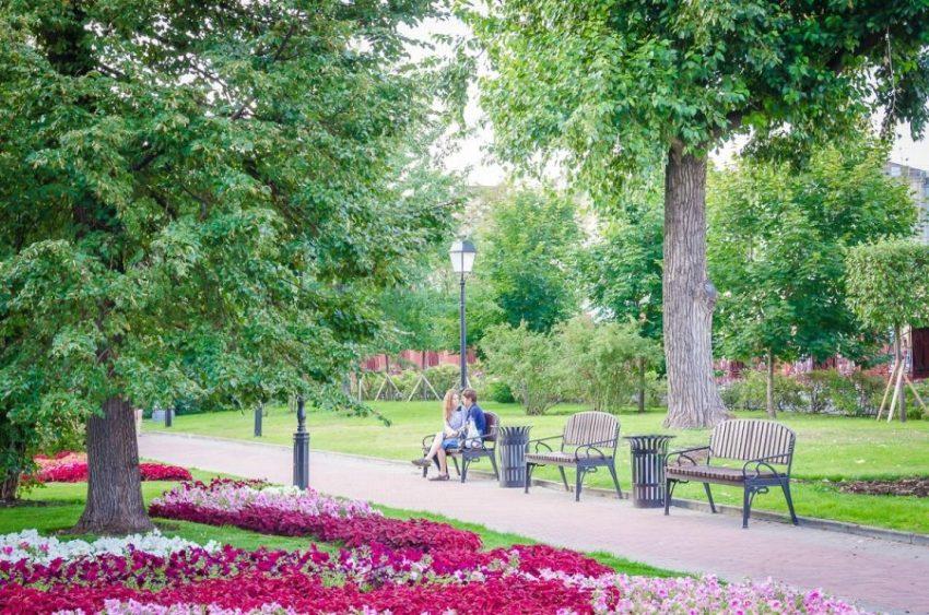 Сад «Эрмитаж» достопримечательность в Москве