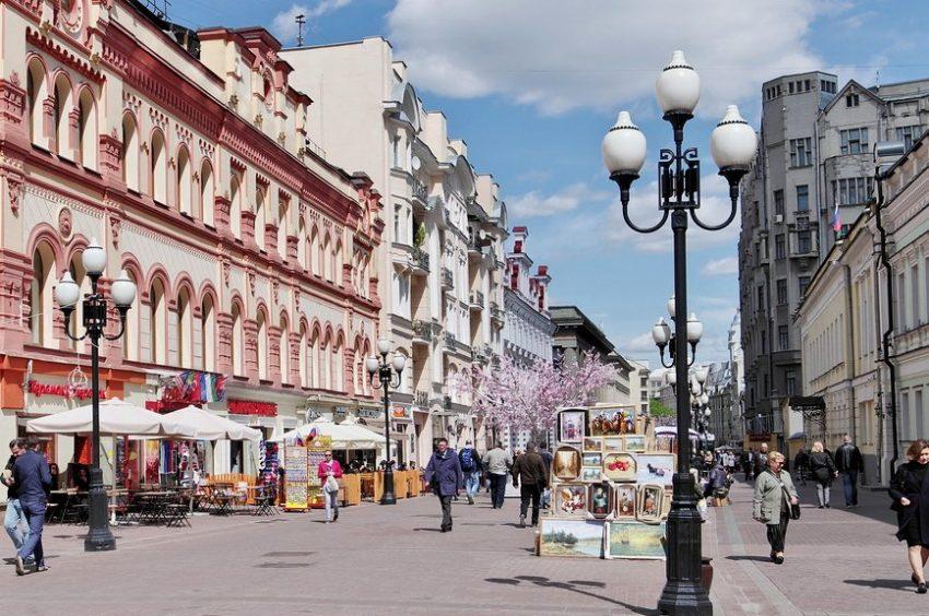 Старый Арбат достопримечательность в Москве