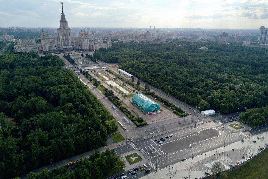 Воробьевы горы в Москве