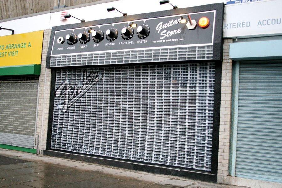 магазин Усилитель для гитары в Лондоне (Англия)