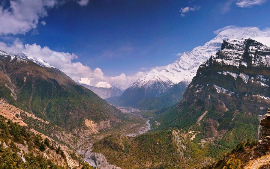 Непал поход в горы на отдых