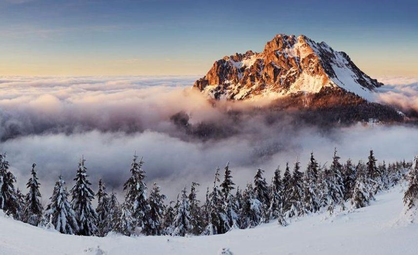 Словакия поход в горы для отдыха