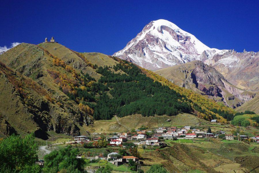 Грузия поход в горы для отдыха