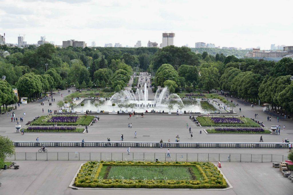 Парк Горького в Москве для детей и родителей
