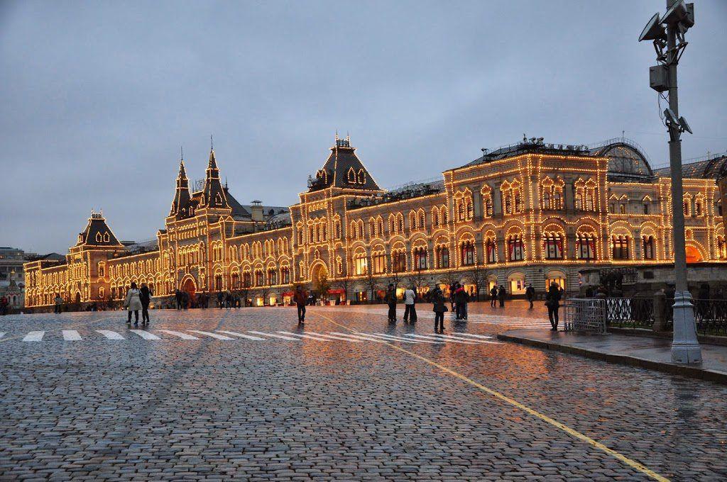 Гум в Москве для детей и родителей