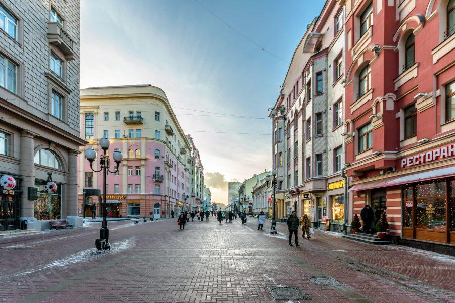 Арбат в Москве для детей и родителей
