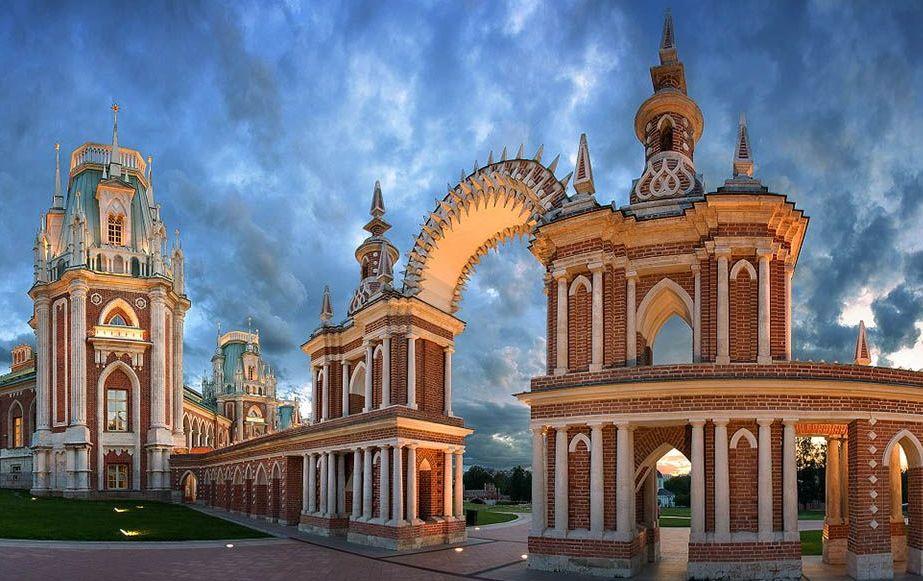 Царицыно в Москве для детей и родителей