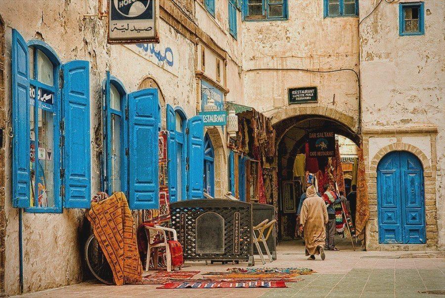 Поехать как турист в Марокко