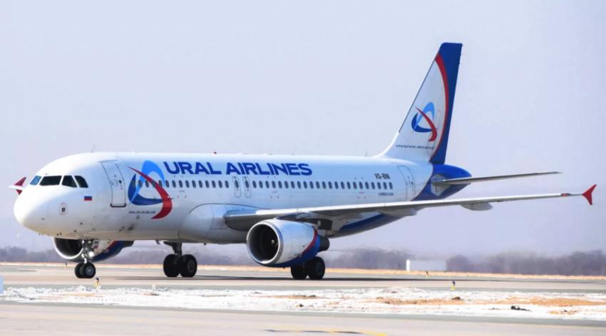 Самолет Уральские авиалинии