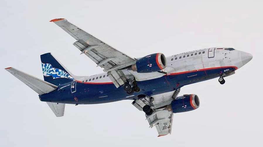 Самолет компании Нордавиа