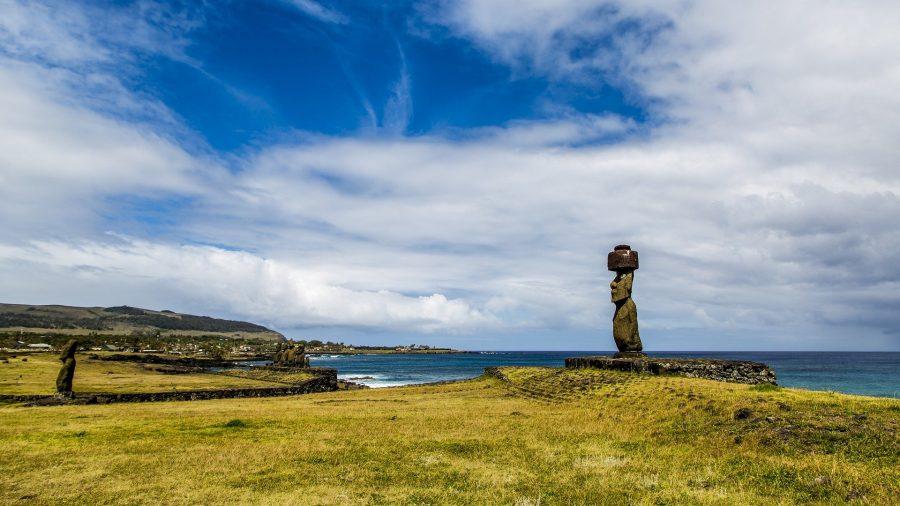 Остров Пасхи в тихом океане