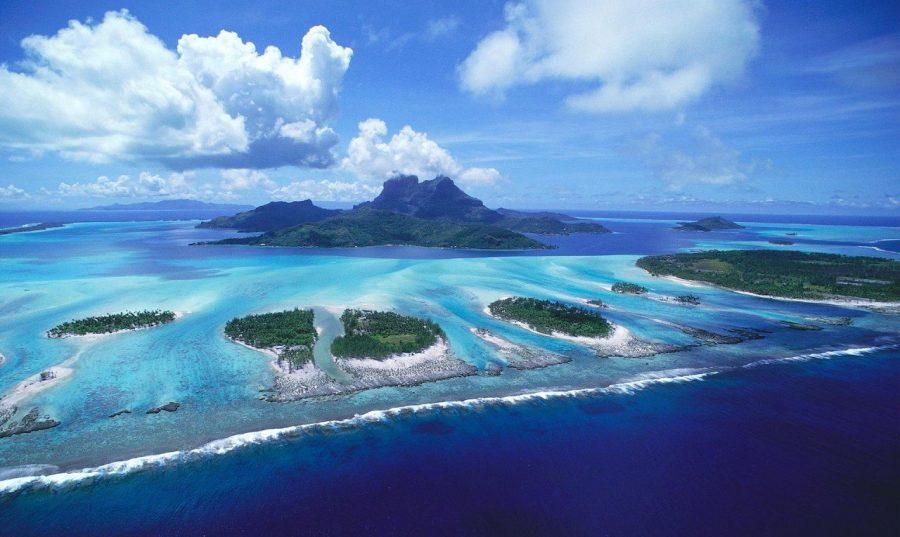 Галапагосы в Тихом океане