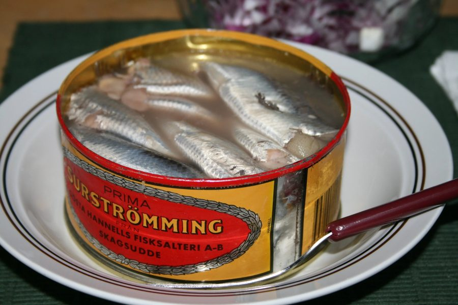 Сюрстремминг отвратительное блюдо