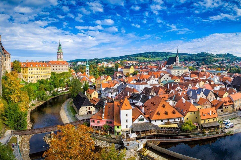 Чески-Крумлов, Чехия для туристов