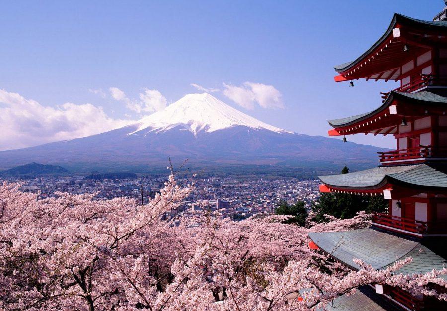 Япония чистая и развитая страна