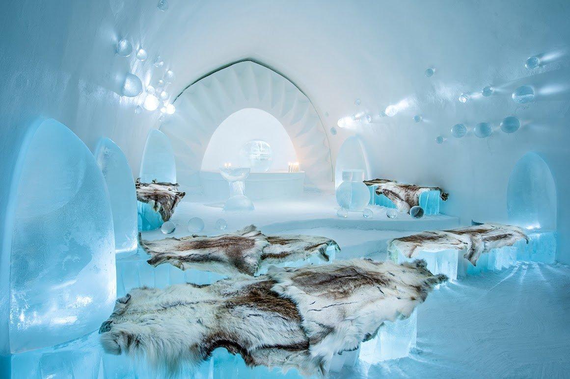 Ледяной отель в Швеции Ice Hotel