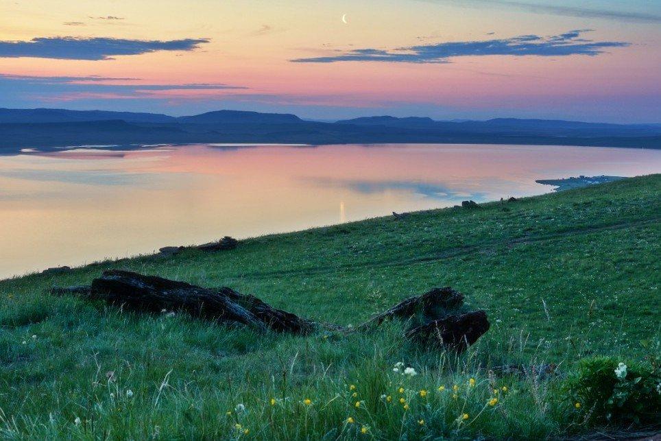 Минеральное озеро Беле, Республика Хакасия