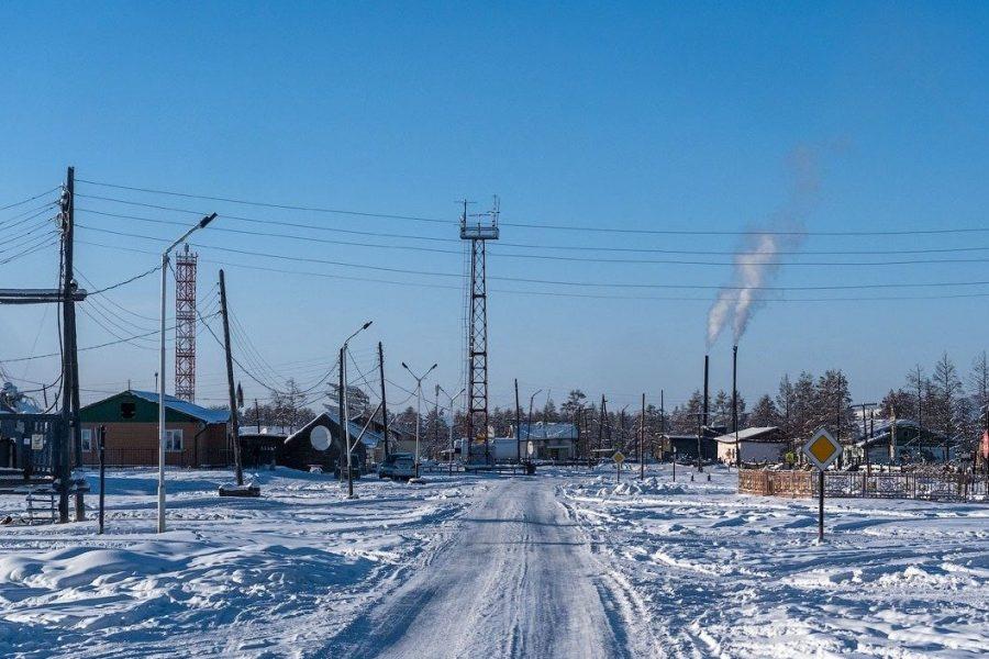 Регион Оймякон, Якутия, Россия