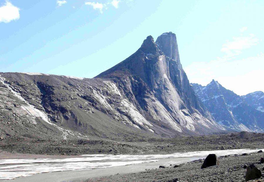 Гора Тор в Нунавуте, Канада