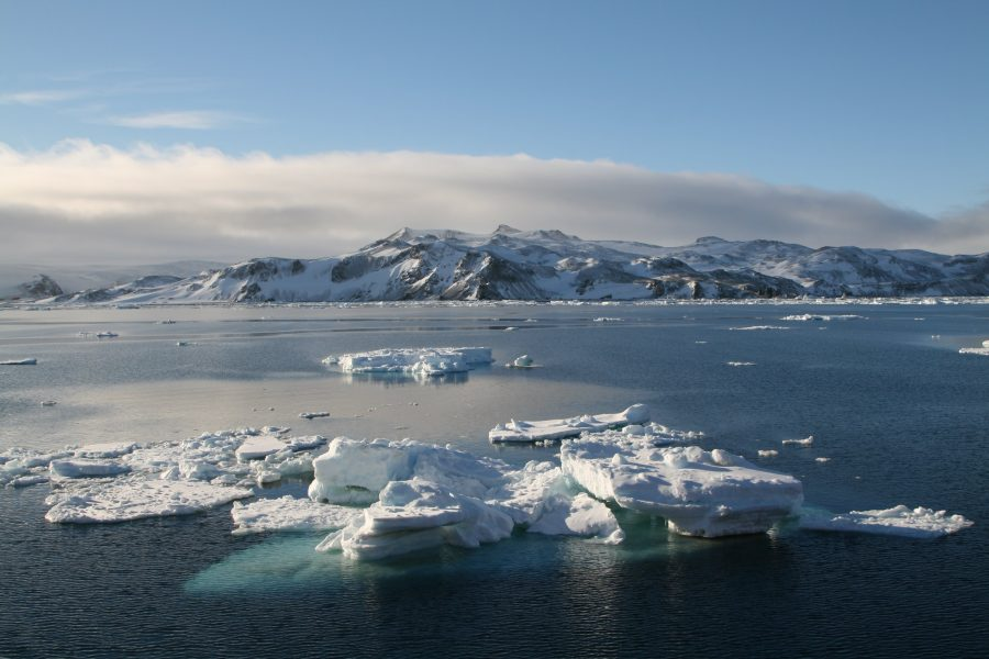 Антарктида ледяной континент