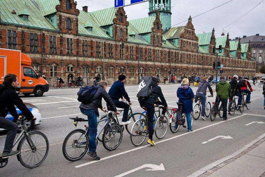 Дания страна где любят велосипеды