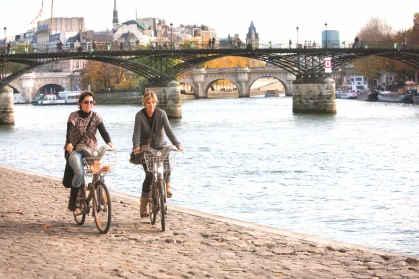 Велосипедная прогулка по Франции