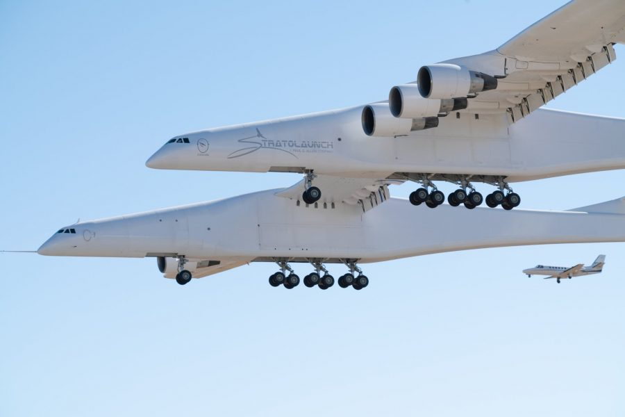 Запуск самого большого самолета