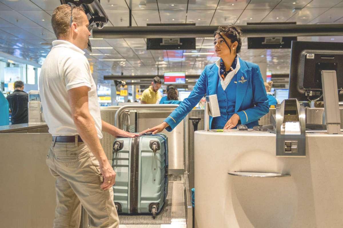 Сдача багажа в аэропорту