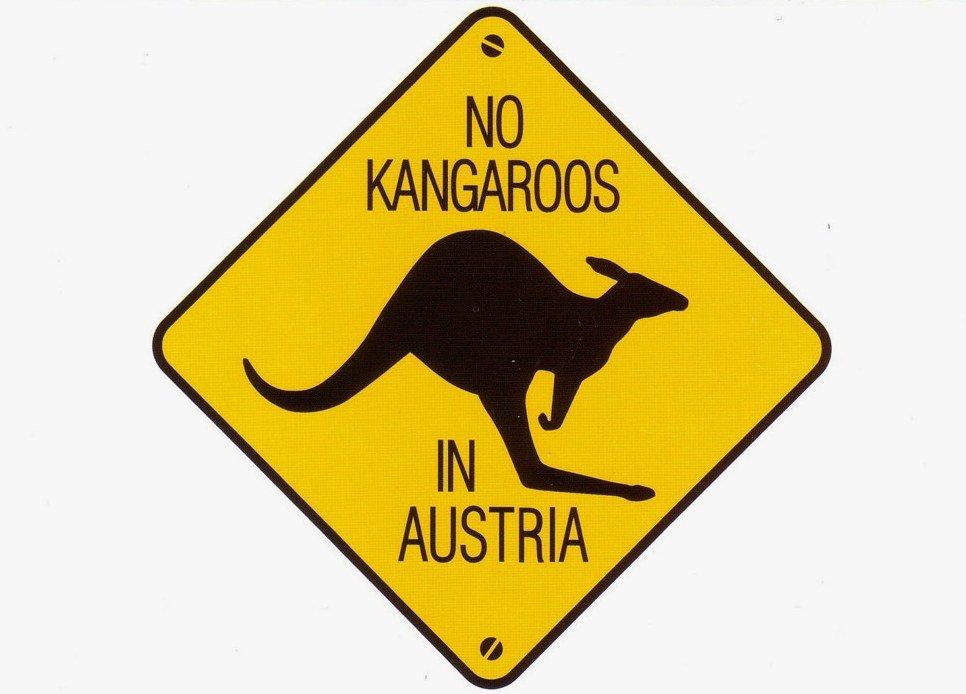 Запрет на кенгуру в Австрии