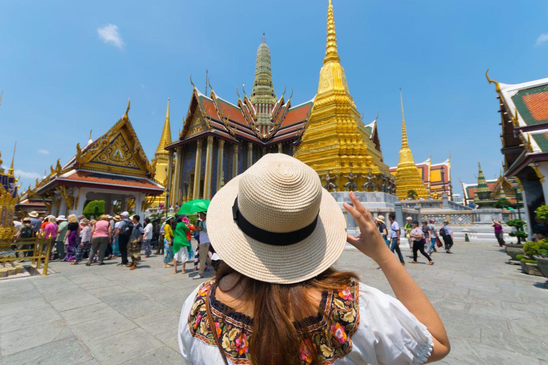 Таиланд и приехавшие туристы