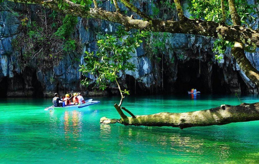 Филиппины и приехавшие туристы