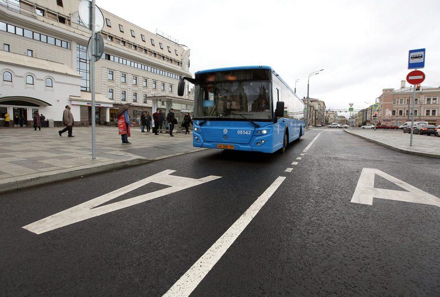 Общественный транспорт в Москве