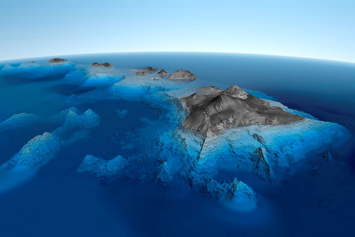 Вулкан на Гавайях Мауна-Кеа