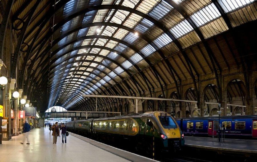 Вокзал Кингс-Кросс в Лондоне
