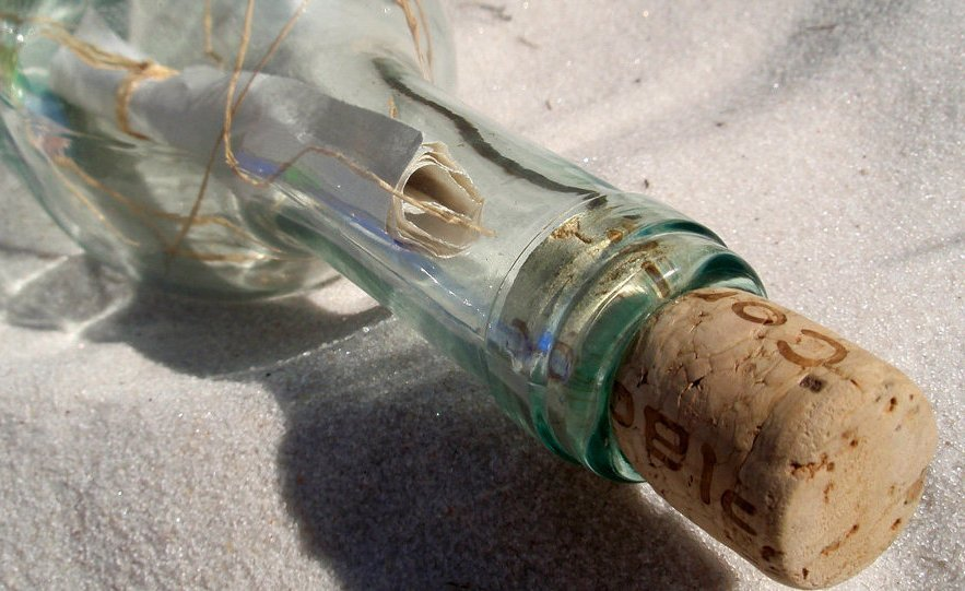 Шпионаж и бутылочная почта