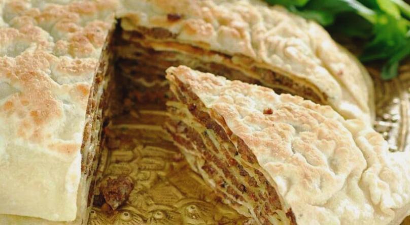 Национальный пирог Юпка, Узбекистан