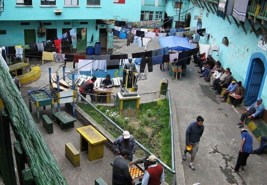 Боливийская тюрьма в Сан-Педро
