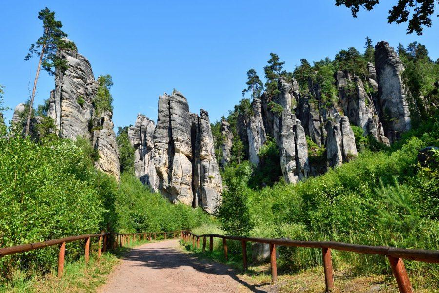 Чешский рай природные достопримечательности