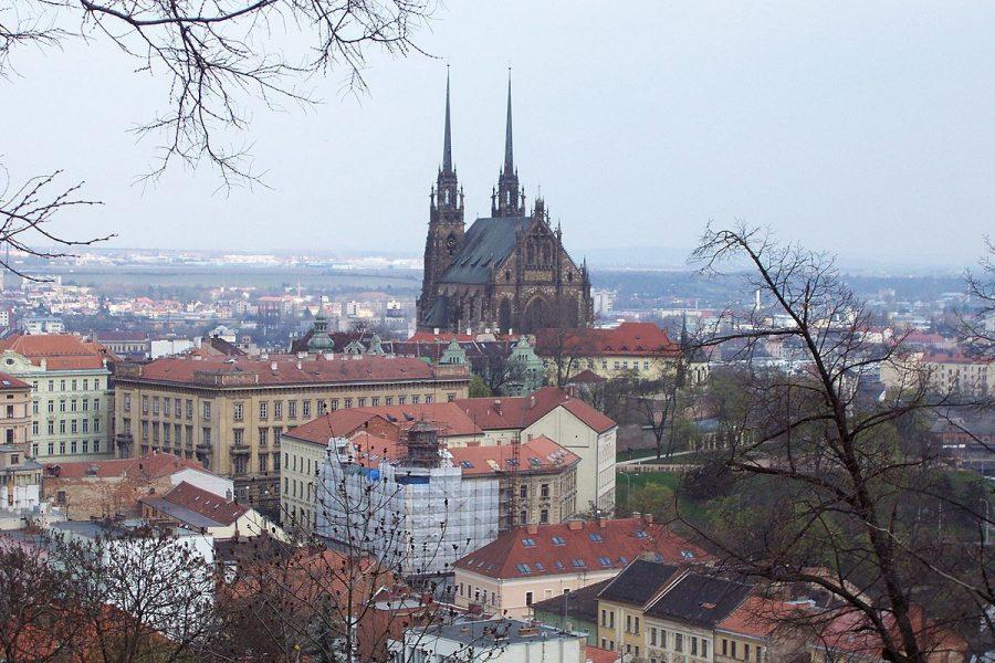 Брно город расположенный в Чехии