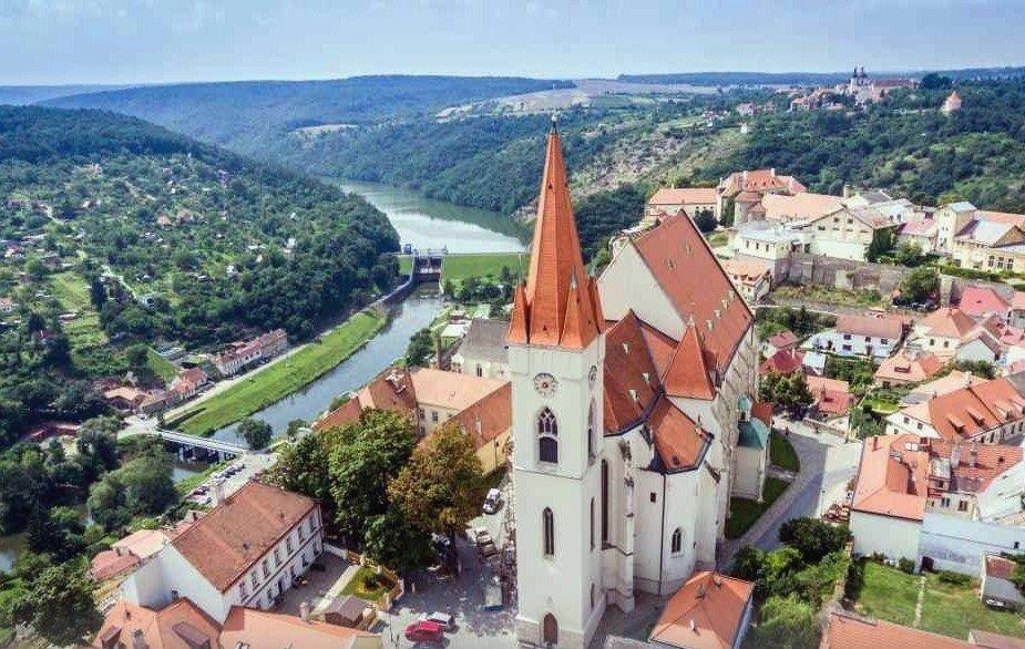Зноймо город расположенный в Чехии