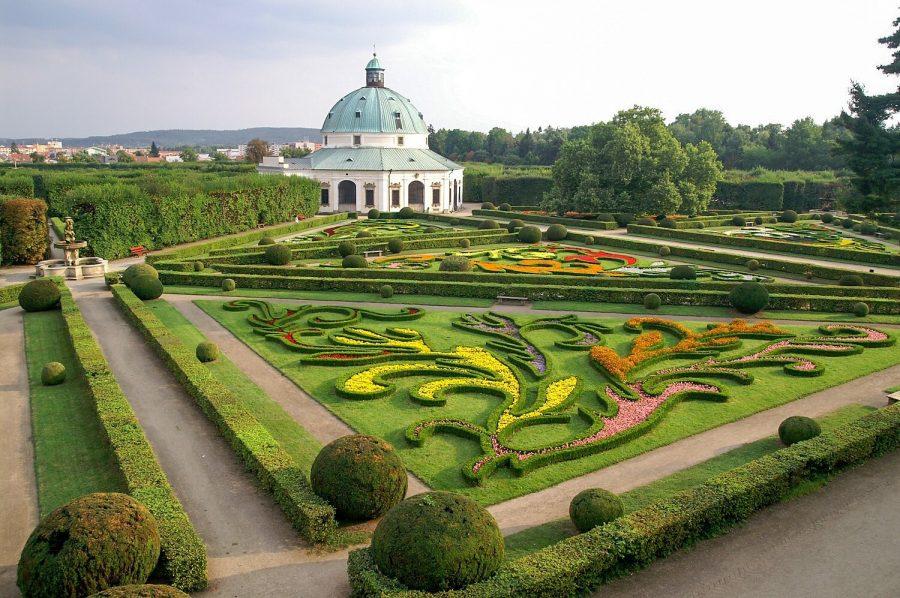 Архиепископский дворец и сады в Кромержиже