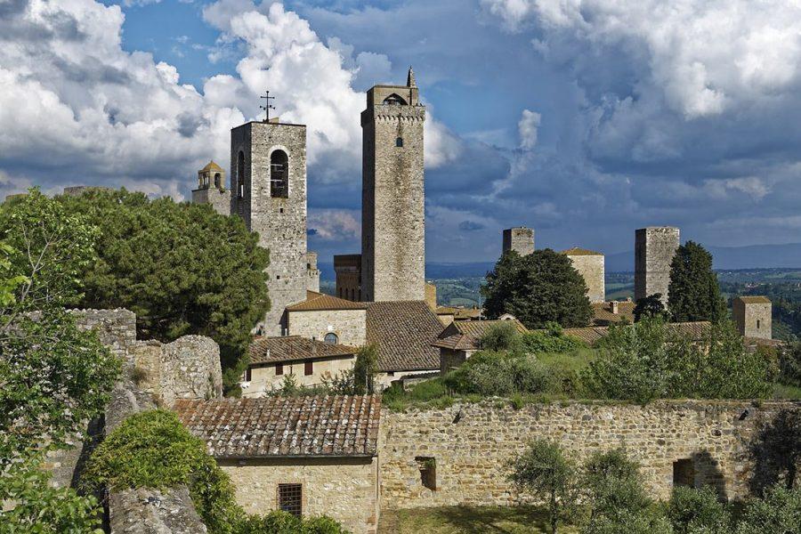 Сан-Джиминьяно в Италии